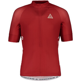 Maloja PlansM. Shortsleeve Bike Jersey Herren red poppy